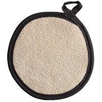 SafeMitt 8 inch Round Terry Cloth Pot Holder   - 12/Pack