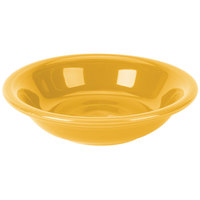 Homer Laughlin 459342 Fiesta Daffodil 6.25 oz. China Fruit Bowl / Monkey Dish - 12/Case