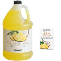 Narvon 1 Gallon Pina Colada Slushy Syrup - 4/Case