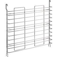 Regency Tray Slides for 24 inch Deep Chrome Shelves - 11 Pan Capacity - 2/Pack