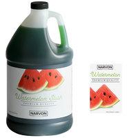 Narvon 1 Gallon Watermelon Slushy Syrup - 4/Case