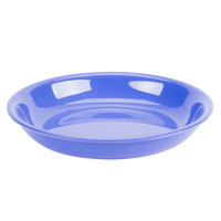 GET B-875-PB Diamond Mardi Gras 30 oz. Peacock Blue Melamine Bowl - 12/Case