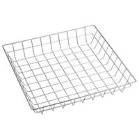American Metalcraft SQGS12 12 inch Stainless Steel Square Wire Basket
