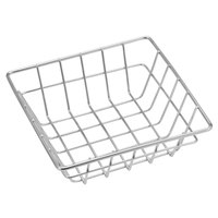 American Metalcraft SQGS6 6 inch Stainless Steel Square Wire Basket
