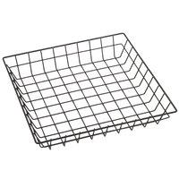 American Metalcraft SQGS12 12 inch Black Square Wire Basket