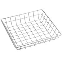 American Metalcraft SQGS10 10 inch Stainless Steel Square Wire Basket