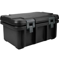 Cambro UPC180110 Black Camcarrier Ultra Pan Carrier - Top Load for 12 inch x 20 inch Food Pan