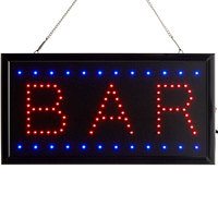 Choice 19 inch x 10 inch LED Rectangular Bar Sign with Two Display Modes