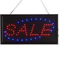 Choice 19 inch x 10 inch LED Rectangular Sale Sign with Two Display Modes