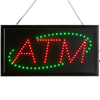 Choice 19 inch x 10 inch LED Rectangular Red and Green ATM Sign with Two Display Modes