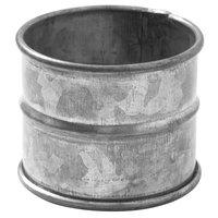 American Metalcraft NRV12 2 inch Galvanized Napkin Ring   - 12/Set