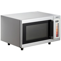 Galaxy MW1000PB Office Series Microwave with Push Button Controls - 120V, 1000W