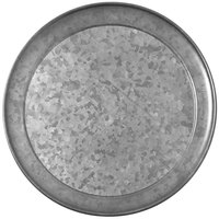 American Metalcraft GTP12 Onyx 12 inch Galvanized Pizza Pan