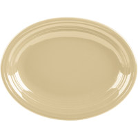 Homer Laughlin 457330 Fiesta Ivory 11 5/8 inch Medium Oval Platter   - 12/Case