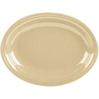Homer Laughlin 457330 Fiesta Ivory 11 5/8 inch Medium Oval Platter   - 12/Case