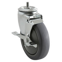 ServIt WDP22 Locking 5 inch Caster for WD Drawer Warmers