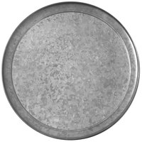 American Metalcraft GTP14 Onyx 14 inch Galvanized Pizza Pan