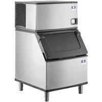 Manitowoc IDF0300A Indigo NXT Series 30 inch Air Cooled Dice Ice Machine / Storage Bin - 115V, 1 Phase, 310 lb.