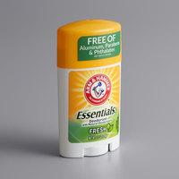 Arm & Hammer Essentials 1 oz. Fresh Scent Deodorant   - 12/Case