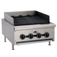 Wells HDCB-3630G Natural Gas Heavy Duty 36 inch Charbroiler - 120,000 BTU
