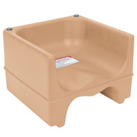 Cambro 200BC157 Dual Seat Booster Chair - Beige