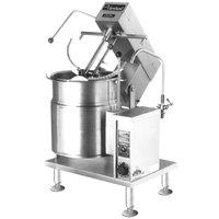 Cleveland MKET-20-T 20 Gallon Tilting 2/3 Steam Jacketed Electric Mixer Kettle - 208/240V