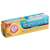 Arm & Hammer Truly Radiant Bright and Strong 0.9 oz. Toothpaste - 72/Case