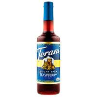 Torani 750 mL Sugar Free Raspberry Flavoring / Fruit Syrup