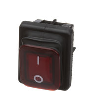 Commercial Pro U03041215027 Red On/Off Switch W/ Boot