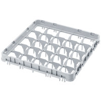 Cambro 49E1151 Soft Gray 49 Compartment Full Size Full Drop Camrack Extender - 19 5/8 inch x 19 5/8 inch x 2 inch