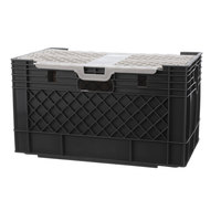 Prince Castle 25791 Crate Milk W/Lid Boxed