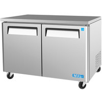 Turbo Air MUF-48 M3 Series 48 inch Undercounter Freezer - 12 Cu. Ft.