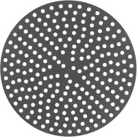 American Metalcraft 18918PHC 18 inch Perforated Pizza Disk - Hard Coat Anodized Aluminum