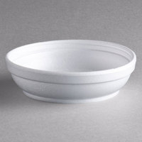 Dart 5B20 5 oz. Insulated White Foam Bowl - 50/Pack
