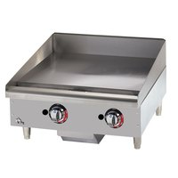Star 624MF 24 inch Manual Control Gas Countertop Grill - 56,600 BTU