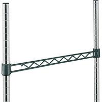 Metro H118-DSG Smoked Glass Hanger Rail 18 inch