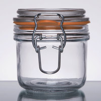 Anchor Hocking 98906 7 oz. Mini Heremes Jar - 12/Case