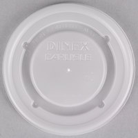 Dinex DX50008714 Fenwick Translucent Disposable Lid for Dinex DX5200 Fenwick 5 oz. Insulated Bowls and DX5000 Fenwick 8 oz. Insulated Mugs - 1500/Case