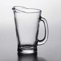 Anchor Hocking 1155UR 55 oz. Glass Beer Wagon Pitcher