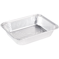 Half-Size Heavy Duty Foil Steam Table Pan 2 9/16 inch Deep - 100/Case
