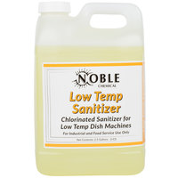 Noble Chemical 2.5 Gallon / 320 oz. Low Temp San Dish Washing Machine Sanitizer - 2/Case