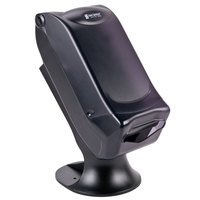 San Jamar H5005STBK Fullfold Venue Stand Mount Napkin Dispenser with Control Face - Black Pearl