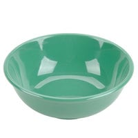 Green 32 oz. Melamine Salad Bowl - 12/Case