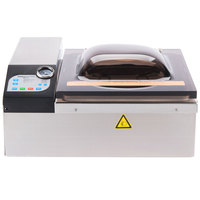 "ARY VacMaster VP120 Chamber Vacuum Packaging Machine with 11 1/2"" Seal Bar - Automatic Lid"