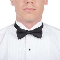 Adjustable Black Bow Tie