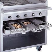 Bakers Pride 21884847-48GS Glo-Stone Charbroiler Stainless Steel Smoke Box