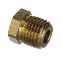 Edlund P132 Plug, 1/4 Npt Brass Hex