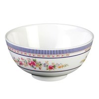 Rose 6 oz. Round Melamine Rice Bowl - 24/Pack