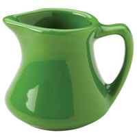 Hall China 30193324 Shamrock 2.5 oz. Colorations Empire Creamer - 72/Case