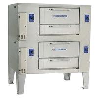 Bakers Pride D-250 Super Deck Liquid Propane Double Deck Gas Oven